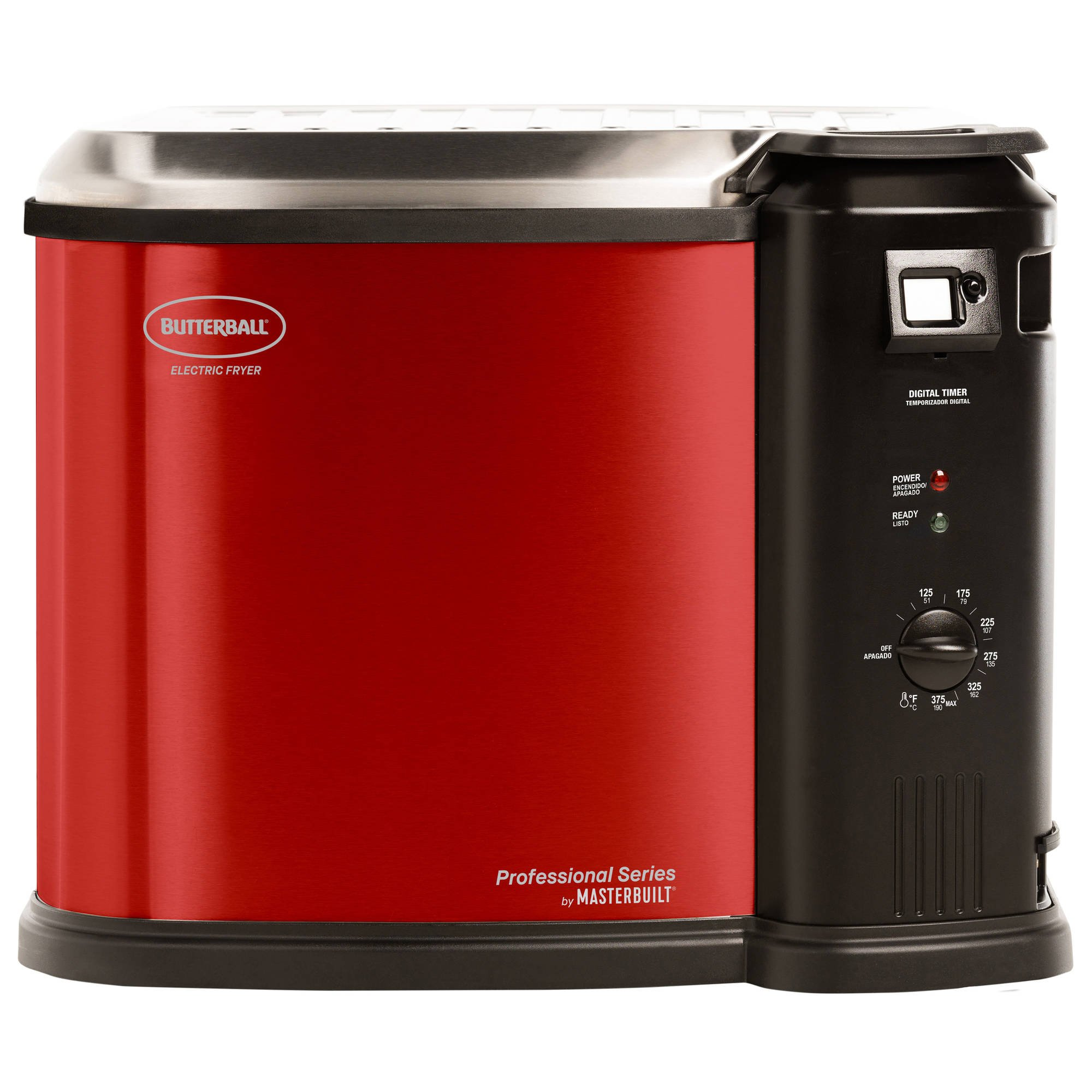 Butterball XL Electric Fryer by Masterbuilt (Red)