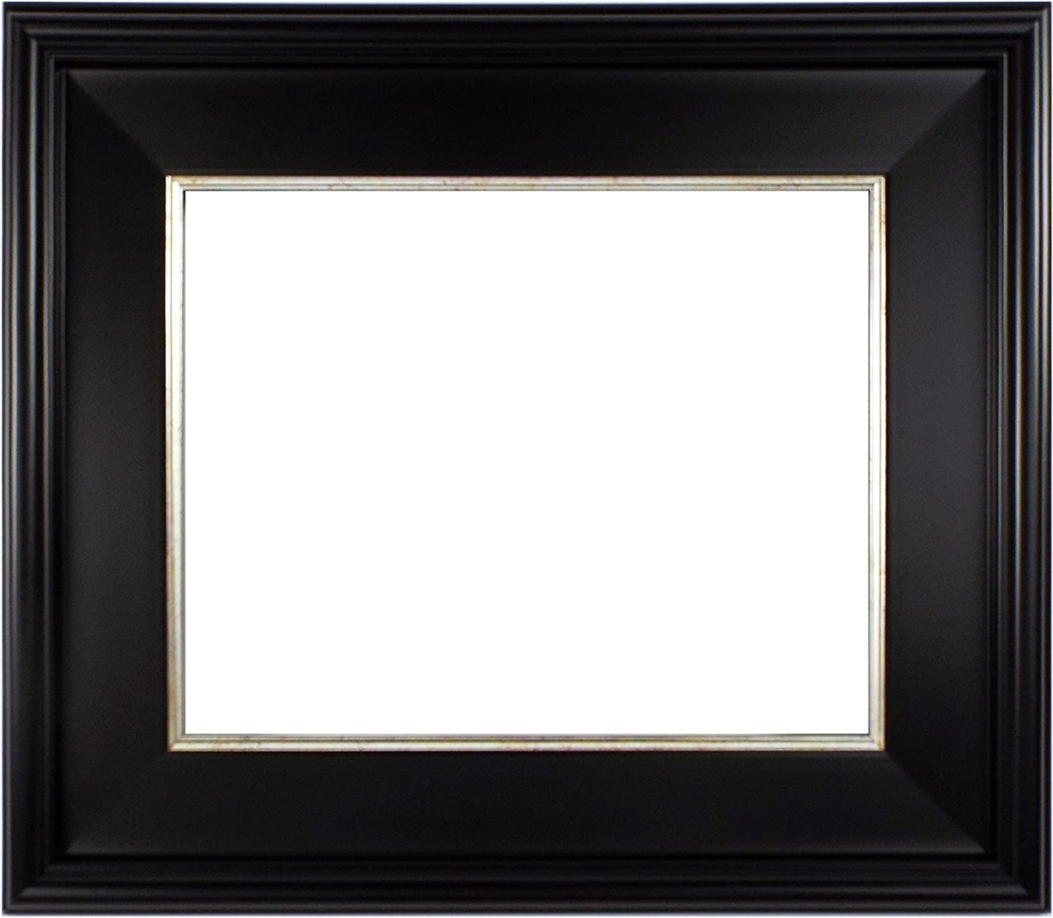 """CLASSIC MODERN PHOTO PICTURE ART PAINTING FRAME PLEIN AIR WOOD SILVER 3/"""" WIDE"""