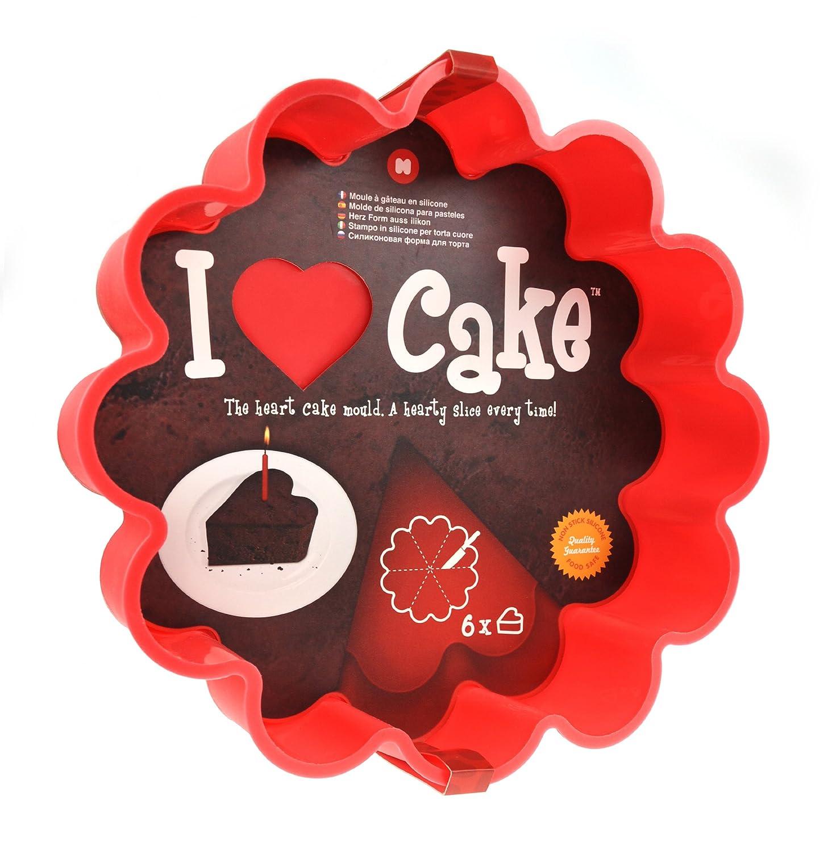 Amazon.com: Mustard M 13006 I Heart Cake Baking Mold: I Heart Cake Pan: Kitchen & Dining