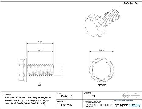 The Hillman Group 44101 M16-2.00 x 45 Metric Flange Bolt 3-Pack