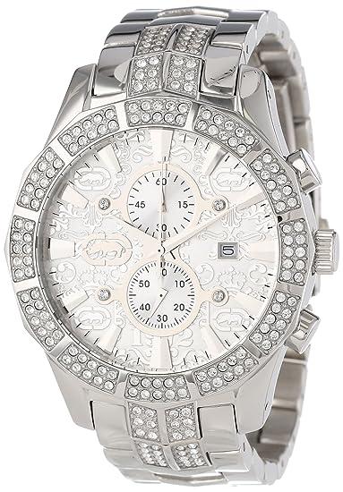 Marc Ecko E22569G1 - Reloj de Pulsera Hombre, Acero Inoxidable, Color Plata: Marc Ecko: Amazon.es: Relojes