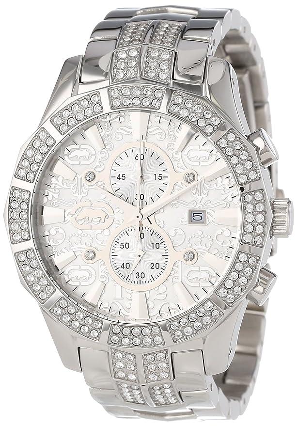 Amazon.com: Marc Ecko Mens M-1 Quartz Stainless Steel Dress Watch, Color:Silver-Toned (Model: E22569G1): Marc Ecko: Watches