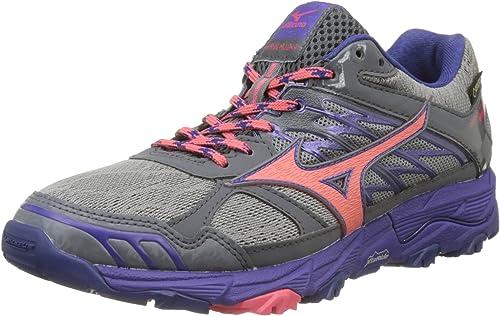 Mizuno Wave Mujin G-TX Wos, Zapatillas de Running para Mujer ...