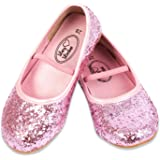 Lucy Locket - Ballerines à Paillettes Rose - Taille 24 Enfant Fille