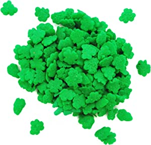 Dress My Cupcake Decorating Edible Cake and Cookie Confetti Sprinkles, Mini Shamrocks, 2.6-Ounce