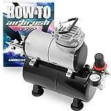 PointZero Portable Airbrush Air Compressor Oil-less 3L Tank 1/5 HP