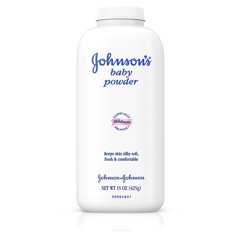 Johnson's Baby Powder For Diaper Rash, 15 oz. Johnson' s JJ-2340