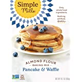 Simple Mills Almond Flour Pancake Mix & Waffle Mix, Gluten Free 10.7 Oz