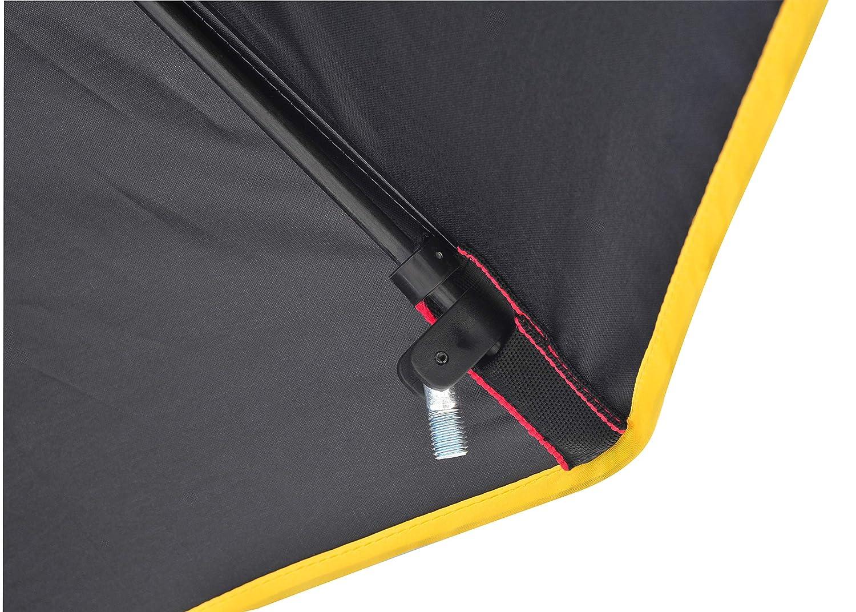 FTM Angelschirm /Ø 2,50m PVC-Beschichtung Schirm wasserdicht von Fishing Tackle Max
