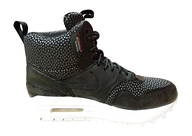 0f14a7f76a Amazon.com | NIKE Women's Air Max 1 MID Sneakerboot WP Boots | Tennis &  Racquet Sports