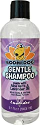 New Soothing Gentle Dog Shampoo   Aloe Vera and Lavender Oil   All Natural Moisturizing Pet Dog Puppy and Cat Wash - Made in USA - 1 Bottle 17oz (503ml)