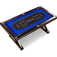 Barrington Premium Solid Wood 6-Player Poker Table