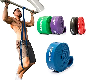Banda di Fitness Fitnessbänder Resistenza Nastro Klimmzugband
