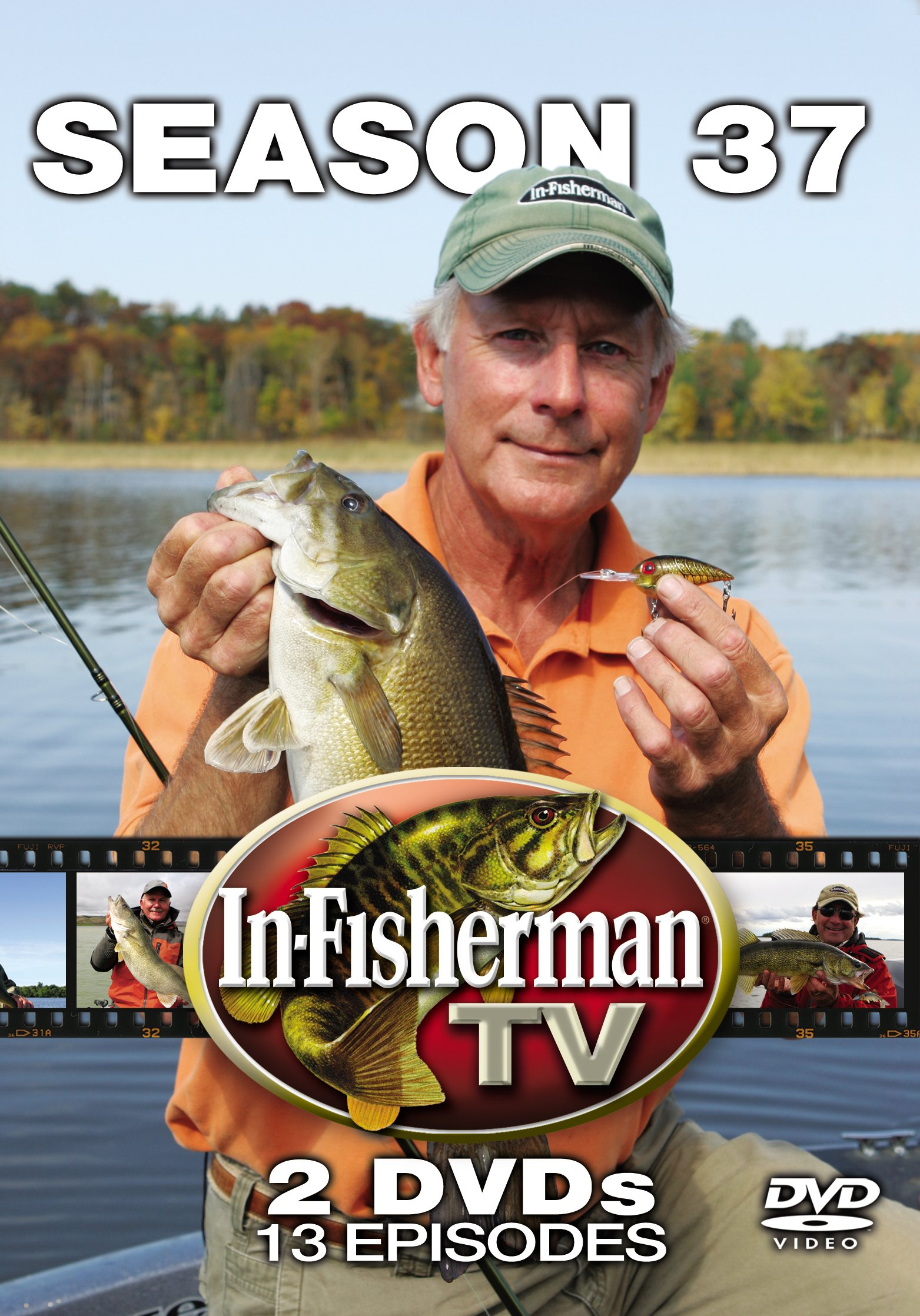 In-Fisherman TV Season 37 (2012) 2 DVD Set by In-Fisherman