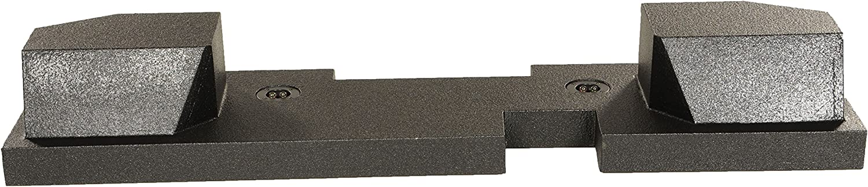 """Rockville Dual 12/"""" Bedliner Sub Box For 02-17 Dodge Ram Quad Cab////1500//2500//3500"""
