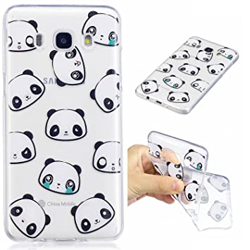 coque samsung j5 6 2016 avec des pandas