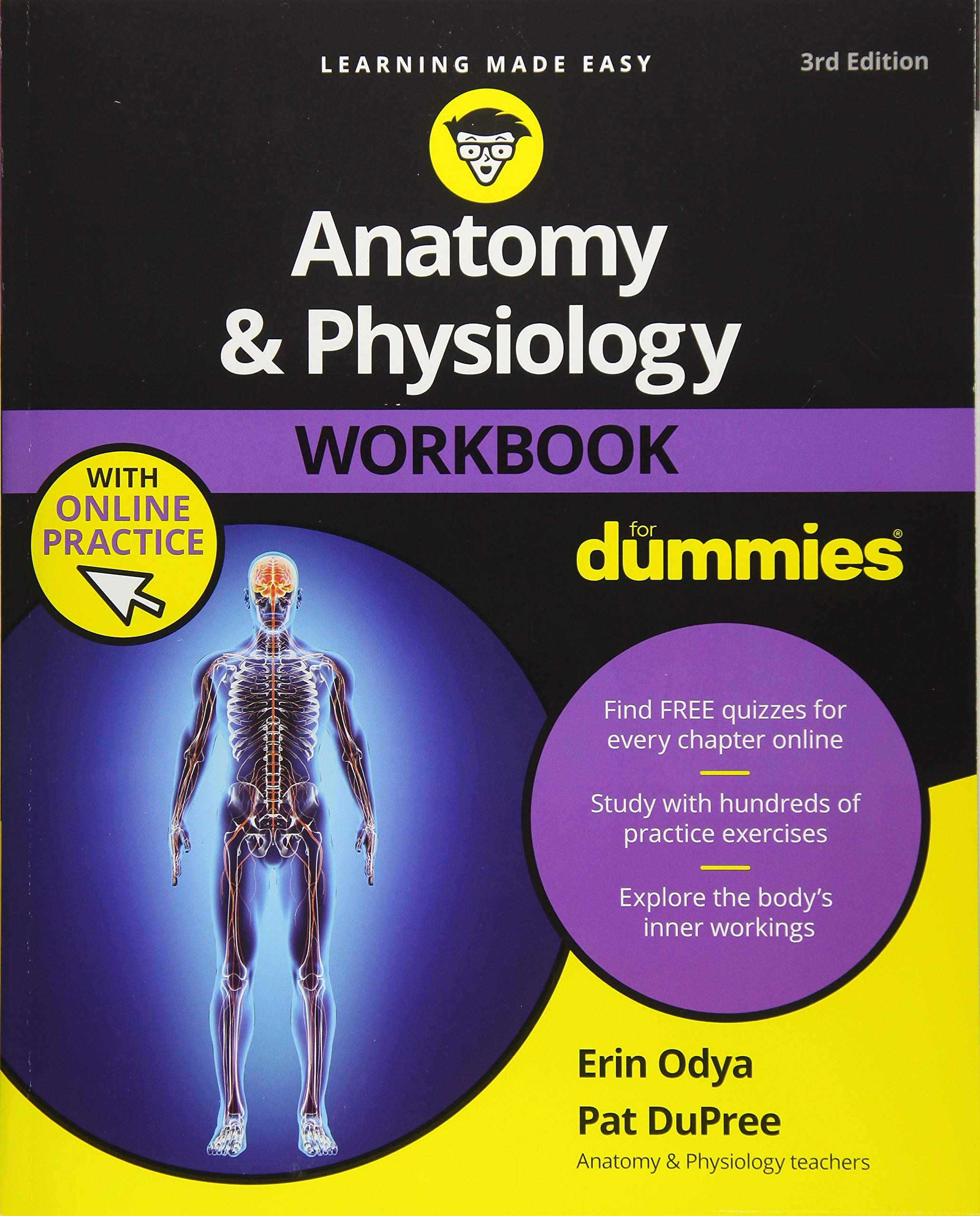 Anatomy & Physiology Workbook For Dummies with Online Practice ...