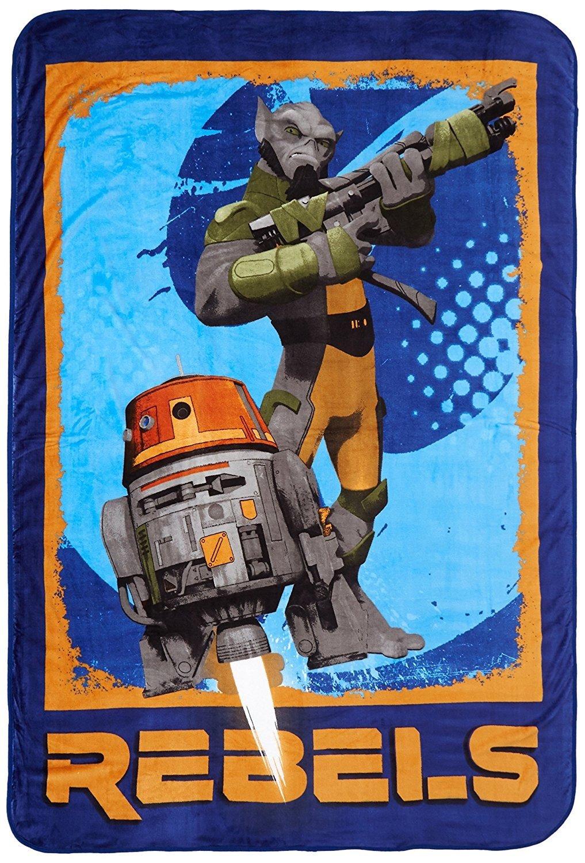 Star Wars Rebels 62 x 90 Twin Blanket