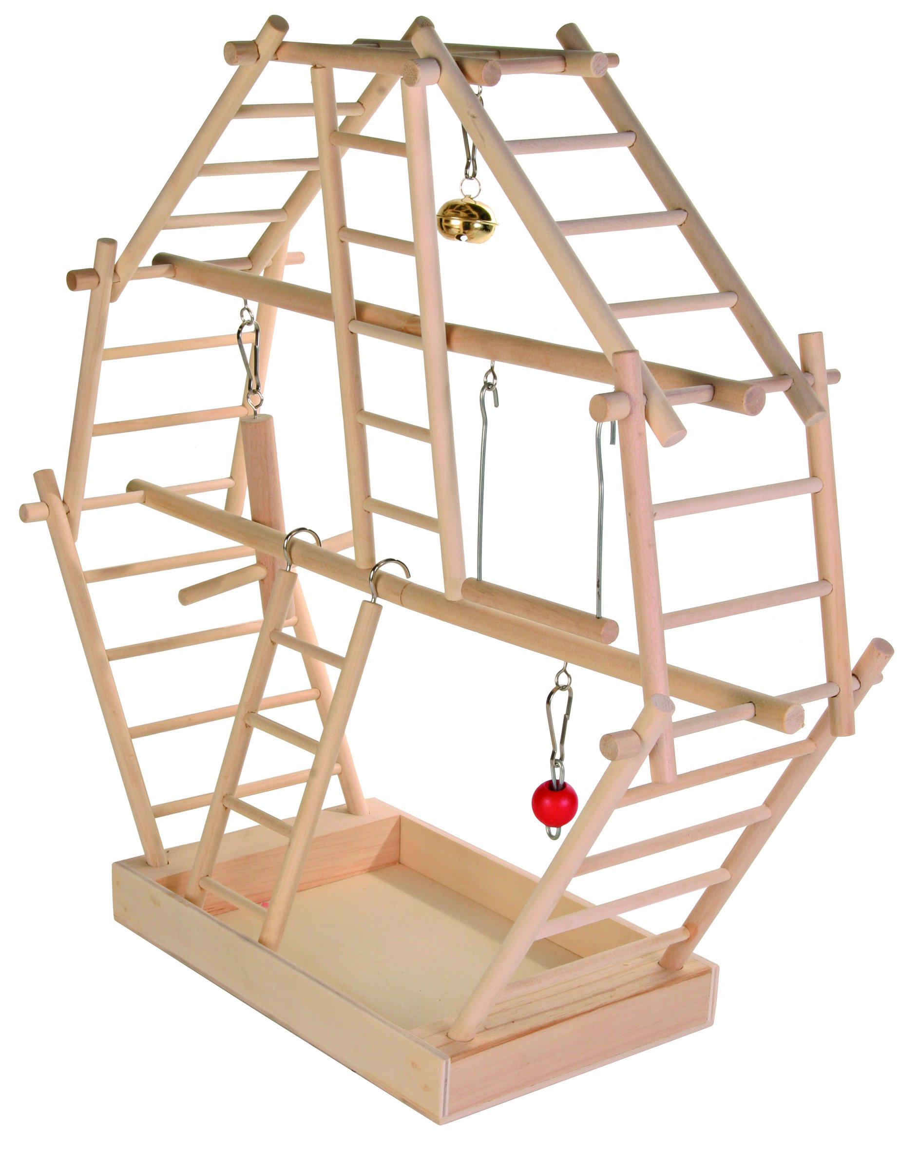 Trixie 5659 Wooden Ladder Playground 44 × 44 × 16 cm by Trixie
