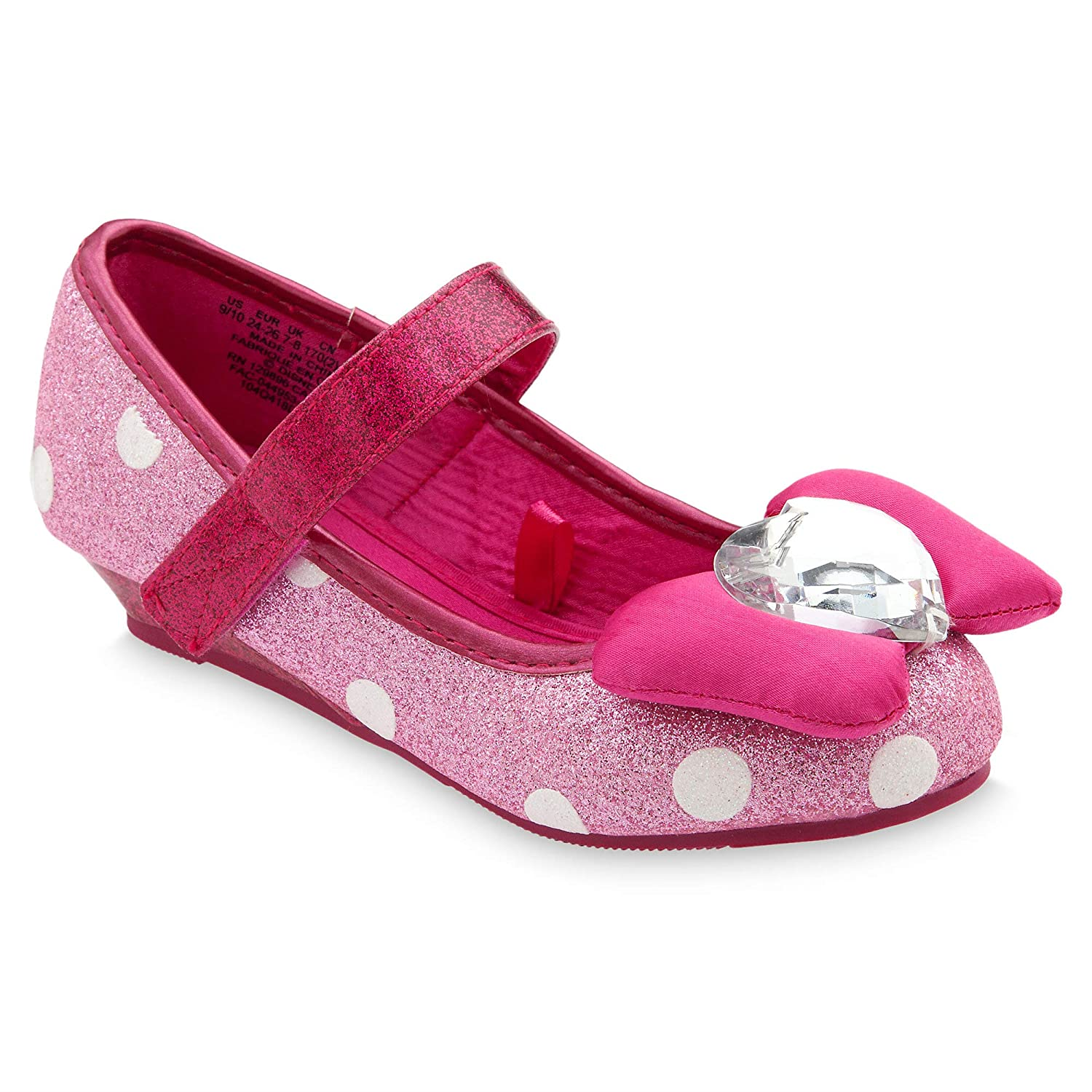 Disney Minnie Mouse Costume Shoes for Kids - Pink Pink
