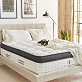 Brentwood Home Oceano Hybrid Innerspring, Cooling Gel Memory Foam, Non-Toxic, Made in California Mattress, Twin XL