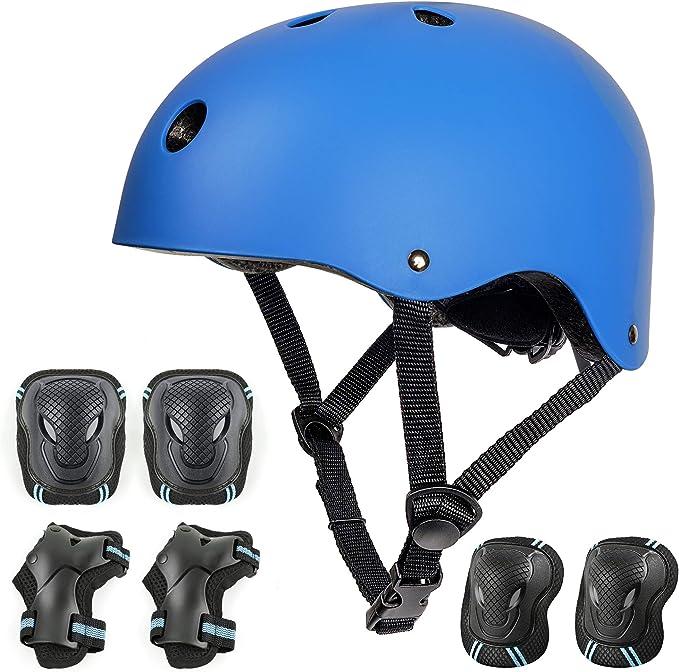 Rollschuh Skateboard und Anderen Extreme Sports Automoness Skaterhelm,Kinder-Jugendhelme,Radhelm Kinderhelm Sporthelm CE-Zertifizierung,gesch/ützt f/ür Fahrrad