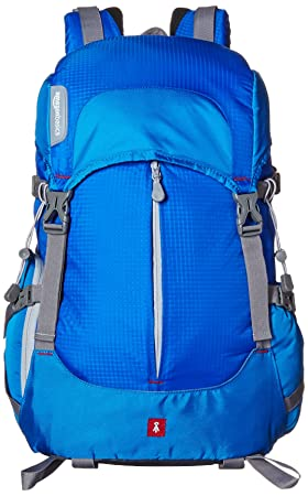 [Extra 5% off for Prime] AmazonBasics Hiker Camera and Laptop Backpack - Blue