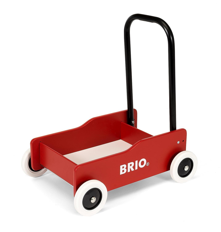 Brio 31373 - Andador con Frenos, Color Rojo: Amazon.es: Juguetes y ...