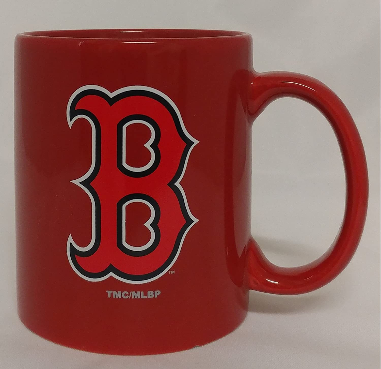 MLBボストンレッドソックス11オンスc-handleマグ B077XMW26V