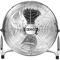 OZAVO Staande ventilator, windmachine diameter 36/48/54 cm met 3 snelheden, vloerventilator power, tafelventilator…