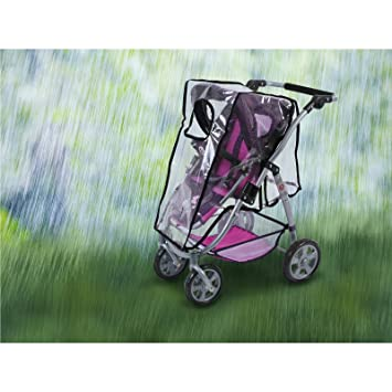 Bayer CHIC 2000 - Protector de lluvia para cochecito para muñecas: Amazon.es: Juguetes y juegos
