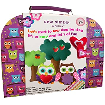 Amazon Com Sewing Kit For Beginners Diy Crafts For Kids The Most