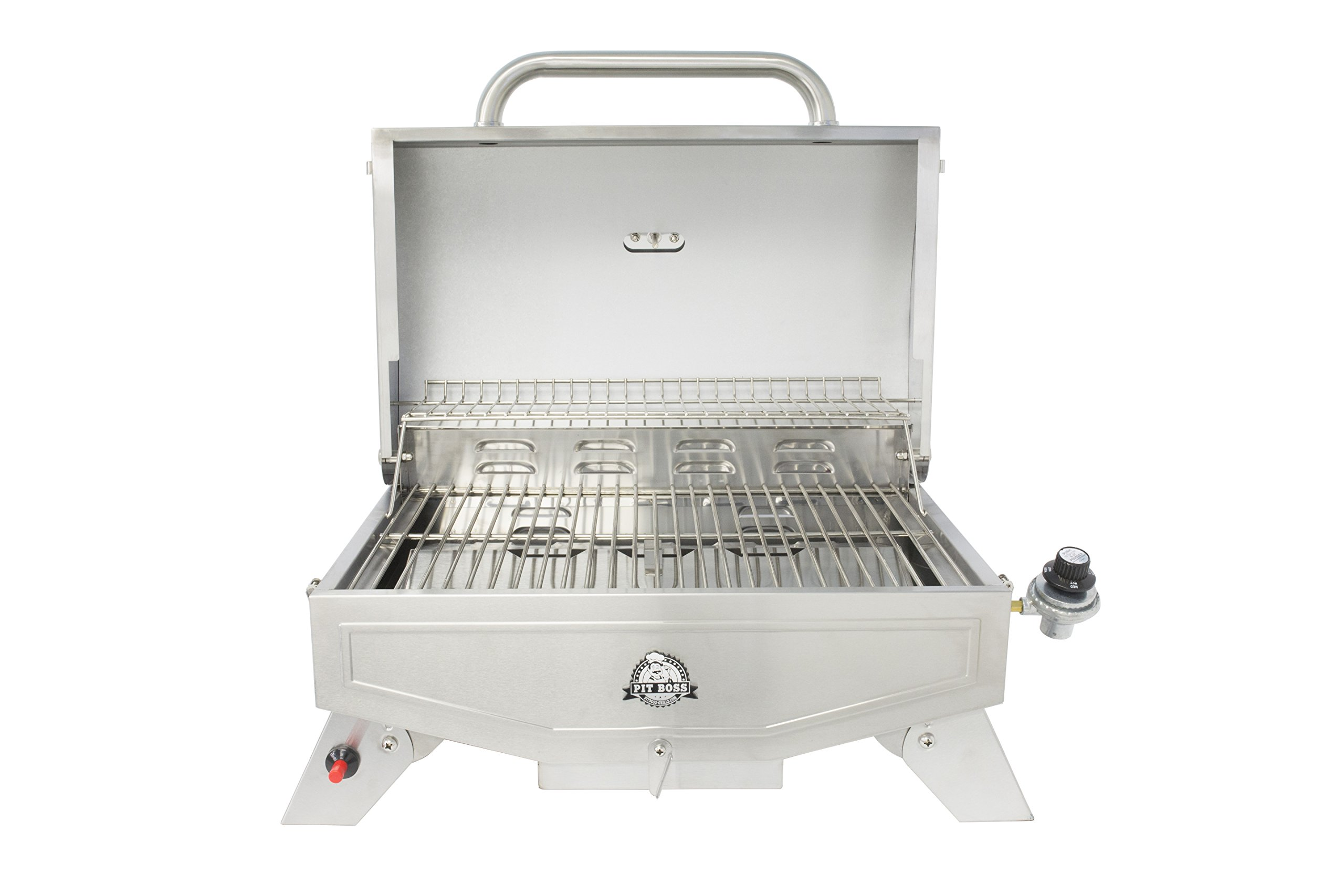 Pit Boss Grills PB100P1 Pit Stop Single-Burner Portable Tabletop Grill by Pit Boss Grills (Image #2)