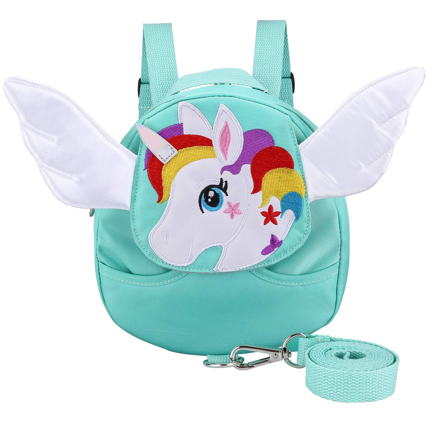 Unicorn Toddler Backpack Toddler Harness Anti- Lost Safety Toddler Leash for Toddlers Age 1-4 Years Old