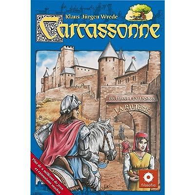Asmodee CARC01 - Jeu de stratégie - Carcassonne Jeu de base