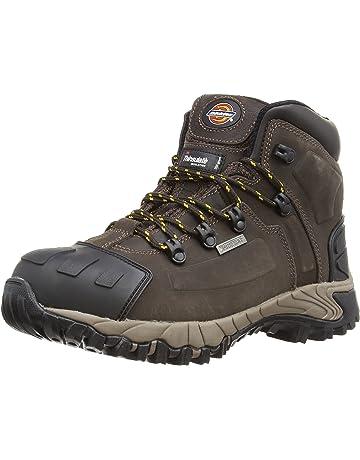 dff5ee457d1809 Dickies FD23310 BR 7 Medway Chaussures de sécurité S3 Taille 41 Brun