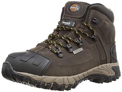 Dickies Medway, Chaussures de sécurité Adulte Mixte, Marron (Brown), 11.5 UK