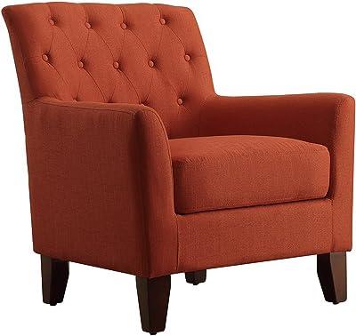 Amazon Com Homelegance Charisma Accent Arm Chair Indigo