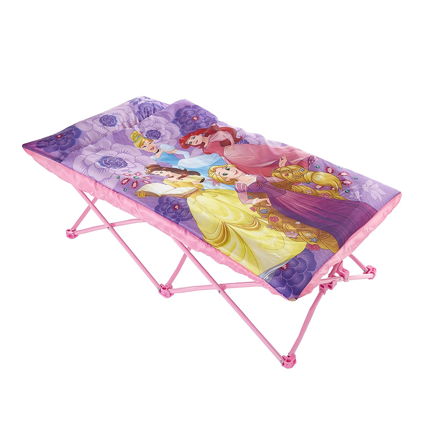 Disney NK320516 Princess Portable Slumber Cot, Purple