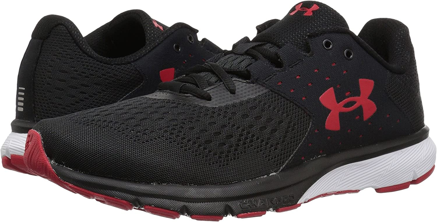 d21a62be9e Under Armour Men's Charged Rebel Black/Red/Red 8 EE US: Buy Online ...