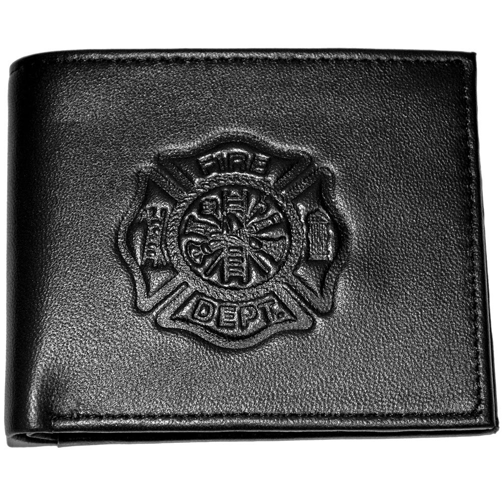 RFID Safe Fire Department Bill Fold Wallet LW-107 Johnson Smith Co. 89759Q1