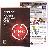 NFPA 2020 National Electrical Code (NEC) Paperback, with Color Ez tab + Electrical Wiring 2020 Card