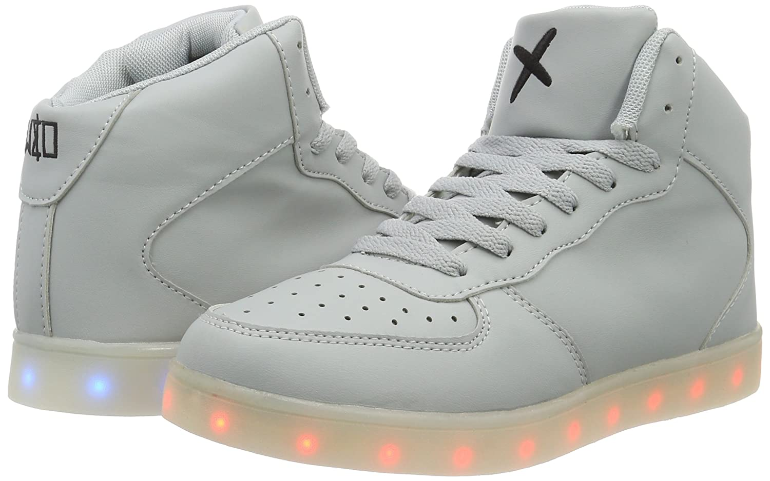 wize & ope 6|Grey Led-hi, Unisex Adults' Low-Top 6|Grey ope (Grey 05) B01D18TWO2 7ccfb4