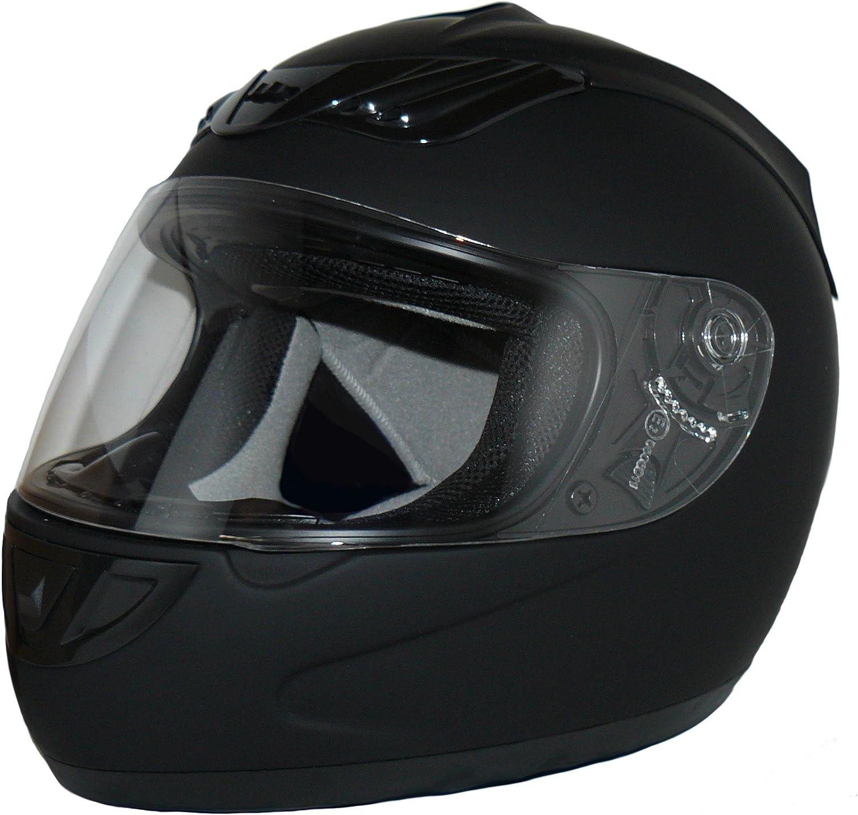 Protectwear H 510 Es M Motorradhelm Größe M Matt Schwarz Auto