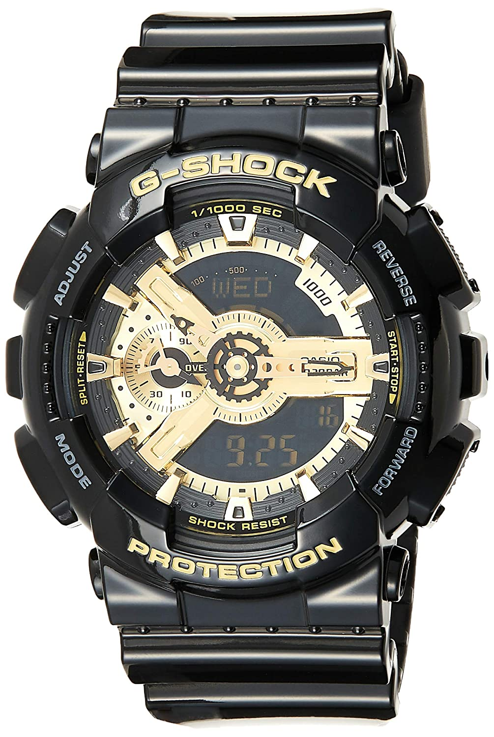 Casio Men s Analogue Digital Quartz Watch with Resin Strap GA-110GB-1AER