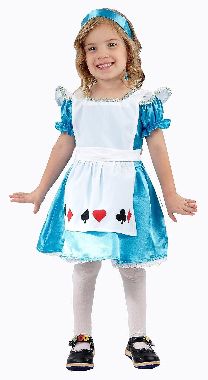 Girls Alice Toddler Fancy Dress Costume Age 3: Amazon.co.uk: Toys ...