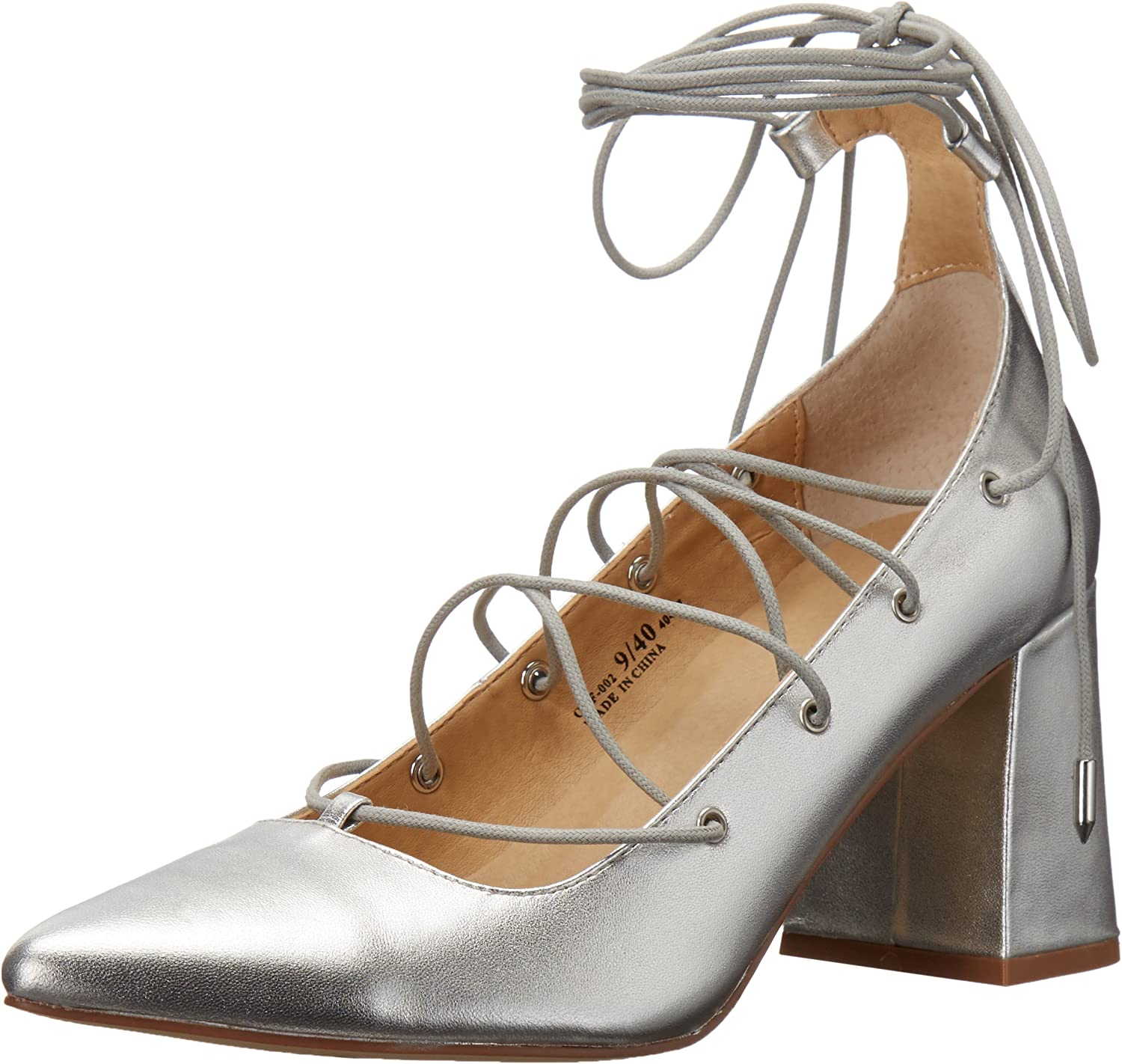 Chinese Laundry Women's Odelle Dress Pump, Silver Metallic,11 M US