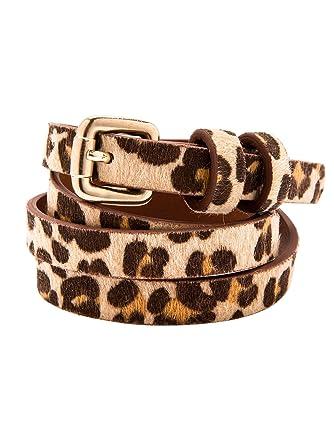 2662c472c537 Balsamik - Ceinture fine - femme - Taille   120 - Couleur   Imprime leopard