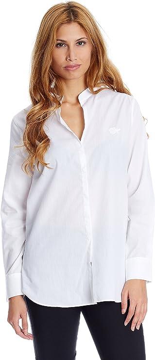 Pedro del Hierro Camisa Mujer Blanco XS: Amazon.es: Ropa y accesorios