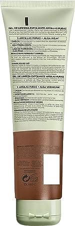 L'Oréal Paris Dermo Expertise Gel Limpiador Exfoliante Arcillas Puras Roja